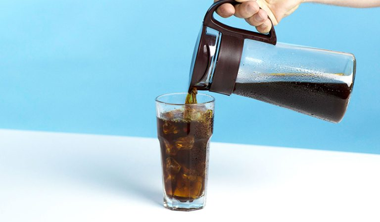 Cold Brew Coffee Pour