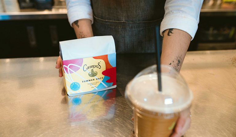 Cold Brew Coffee in Campos Cafe